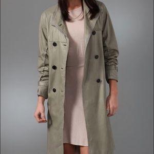 3.1 Phillip Lim leather trench coat